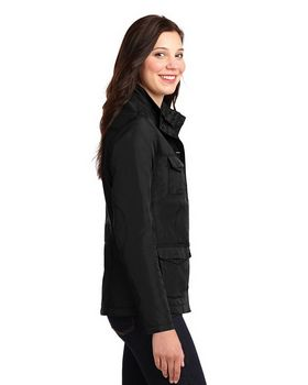 Port Authority L326 Ladies Four-Pocket Jacket