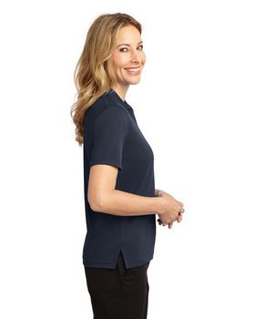 Port Authority L455 Signature Ladies Rapid Dry Polo