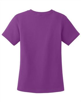 Port Authority L516V Ladies Cotton V-Neck Shirt