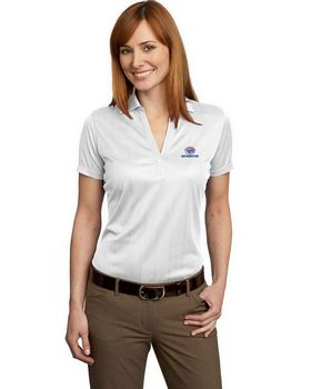 Port Authority L528 Ladies Performance Fine Jacquard Polo