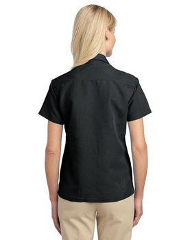 Port Authority L536 Ladies Patterned Easy Care Camp Shirt