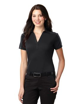 Port Authority L547 Ladies Colorblock Stripe Polo
