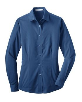 Port Authority L613 Ladies Tonal Pattern Easy Care Shirt