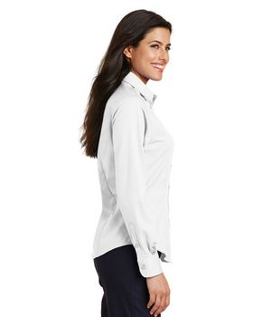 Port Authority L638 Ladies Long Sleeve Twill Shirt