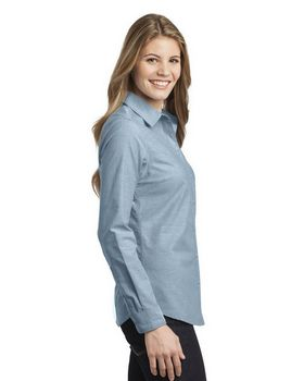 Port Authority L653 Ladies Chambray Shirt