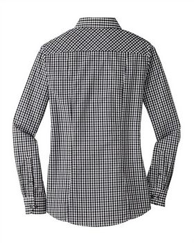 Port Authority L654 Ladies Gingham Easy Care Shirt