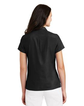 Port Authority L662 Ladies Textured Camp Shirt