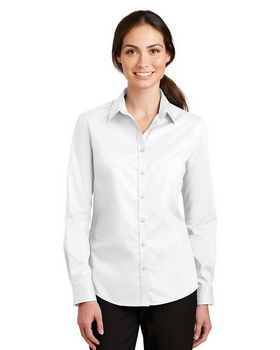 Port Authority L663 Ladies SuperPro Twill Shirt