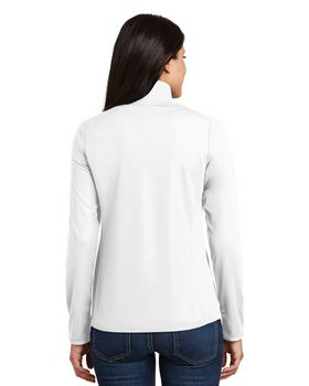 Port Authority L806 Ladies Pinpoint Mesh 1/2-Zip