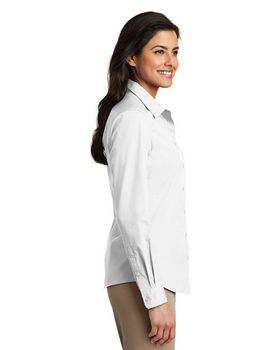 Port Authority LW100 Ladies Poplin Shirt
