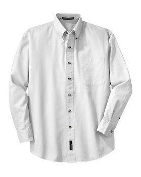 Port Authority S600T Long Sleeve Twill Shirt