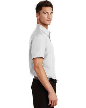 Port Authority S633 Short Sleeve Value Poplin Shirt