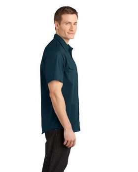 Port Authority S648 Stain Resistant Short Sleeve Twill Shirt