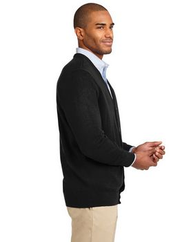 Port Authority SW302 Value V-Neck Cardigan with Pockets
