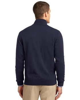 Port Authority SW303 Value Full-Zip Mock Neck Sweater