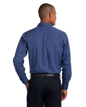 Port Authority TLS642 Tall Tattersall Easy Care Shirt