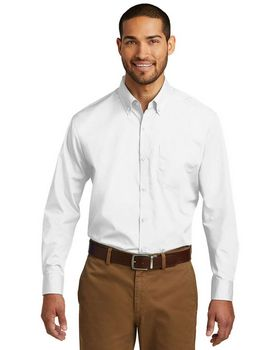 Port Authority W100 Mens Poplin Shirt