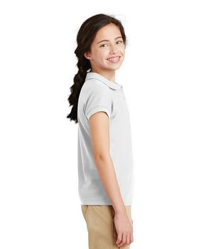 Port Authority YG503 Girls Silk Collar Polo