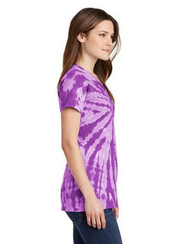 Port & Company LPC147V Ladies V-Neck Tee