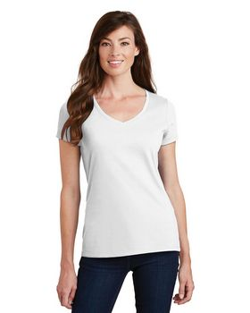 Port & Company LPC450V Ladies V-Neck Tee