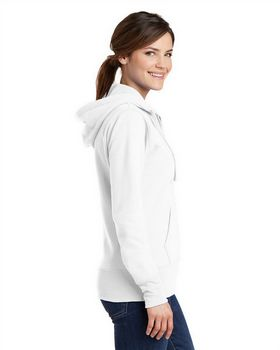 Port & Company LPC78ZH Ladies Hooded Sweatshirt