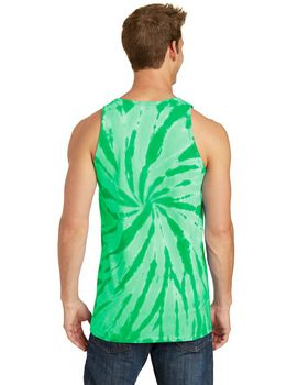 Port & Company PC147TT Essential Tie-Dye Tank Top