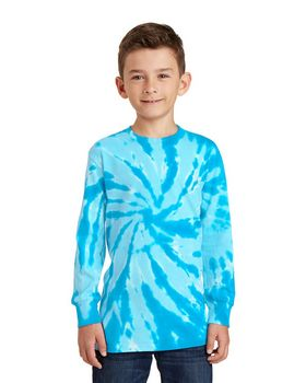 Port & Company PC147YLS Youth Tie-Dye Long Sleeve Tee