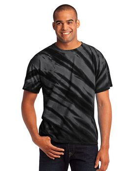 Port & Company PC148 - Essential Tiger Stripe Tie-Dye Tee
