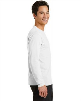 Port & Company PC381LS Essential Blended Performance Tee