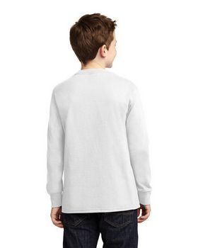 Port & Company PC54YLS Youth Long Sleeve T-Shirt