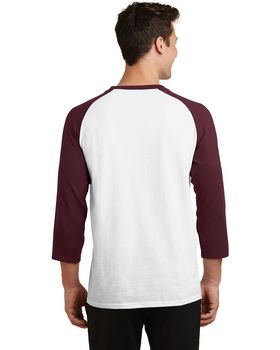 Port & Company PC55RS 3/4-Sleeve Raglan T-Shirt