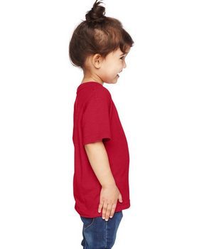 Rabbit Skins RS3305 Toddler Vintage Heathered Fine Jersey T-Shirt