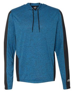 Rawlings 8199 Performance Cationic Hooded Pullover T-Shirt