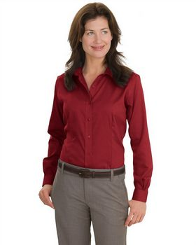 Red House RH47 Ladies Nailhead Non-Iron Button-Down Shirt