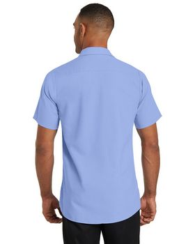 Red Kap CS26 Short Sleeve Pocketless Gripper Shirt