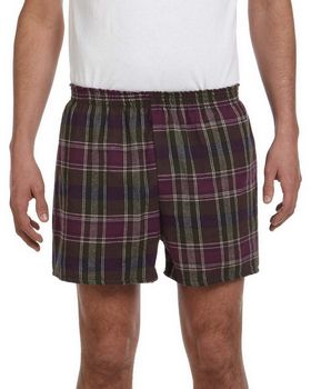 Robinson Apparel 4970E Unisex Plaid Flannel Shorts