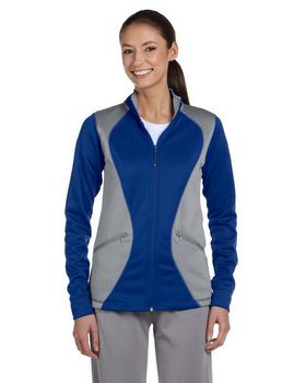 Russell Athletic FS7EFX Ladies Tech Fleece Full-Zip Cadet Jacket