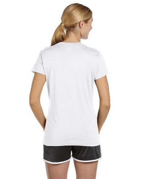 Russell Athletic JUL1JW Ladies Dri-Power V-Neck T-Shirt