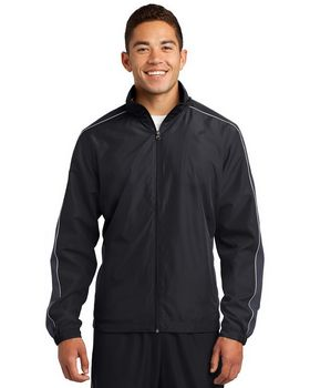 Sport-Tek JST61 Piped Colorblock Wind Jacket