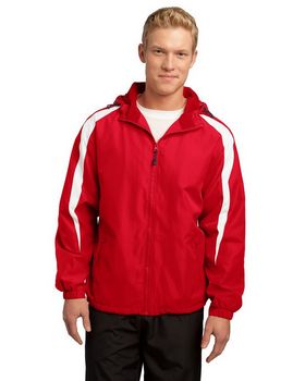Sport-Tek JST81 Fleece-Lined Colorblock Jacket