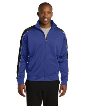 Sport-Tek JST92 Piped Tricot Track Jacket
