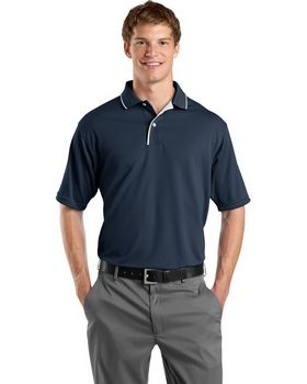 Sport-Tek K467 Dri-Mesh Polo with Tipped Collar and Piping
