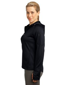 Sport-Tek L248 Ladies Tech Fleece Full-Zip Hooded Jacket