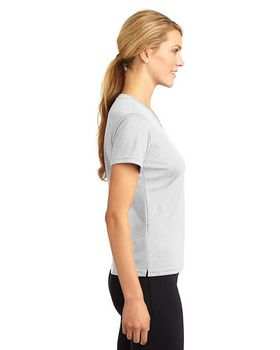 Sport-Tek L468V Dri-Mesh Ladies V-Neck T-Shirt