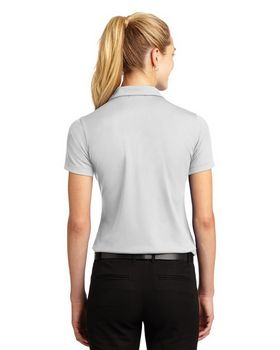 Sport-Tek L469 Ladies Dri-Mesh V-Neck Polo