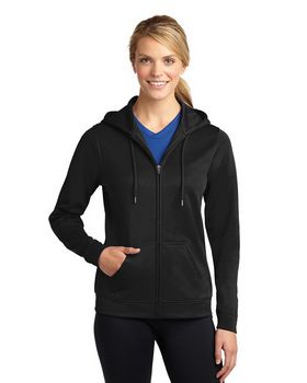 Sport-Tek LST238 Ladies Full-Zip Hooded Jacket