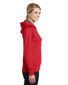 Sport-Tek LST250 Ladies Tech Fleece Hooded Sweatshirt