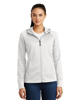 Sport-Tek LST295 Ladies Rival Tech Fleece Full-Zip Hooded Jacket