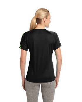 Sport-Tek LST351 Ladies Colorblock Competitor Tee