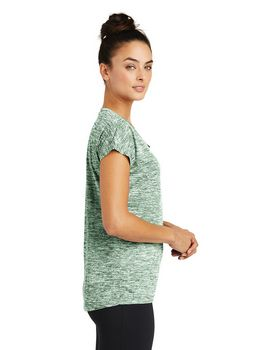 Sport-Tek LST390 Ladies PosiCharge Electric Heather Sporty Tee